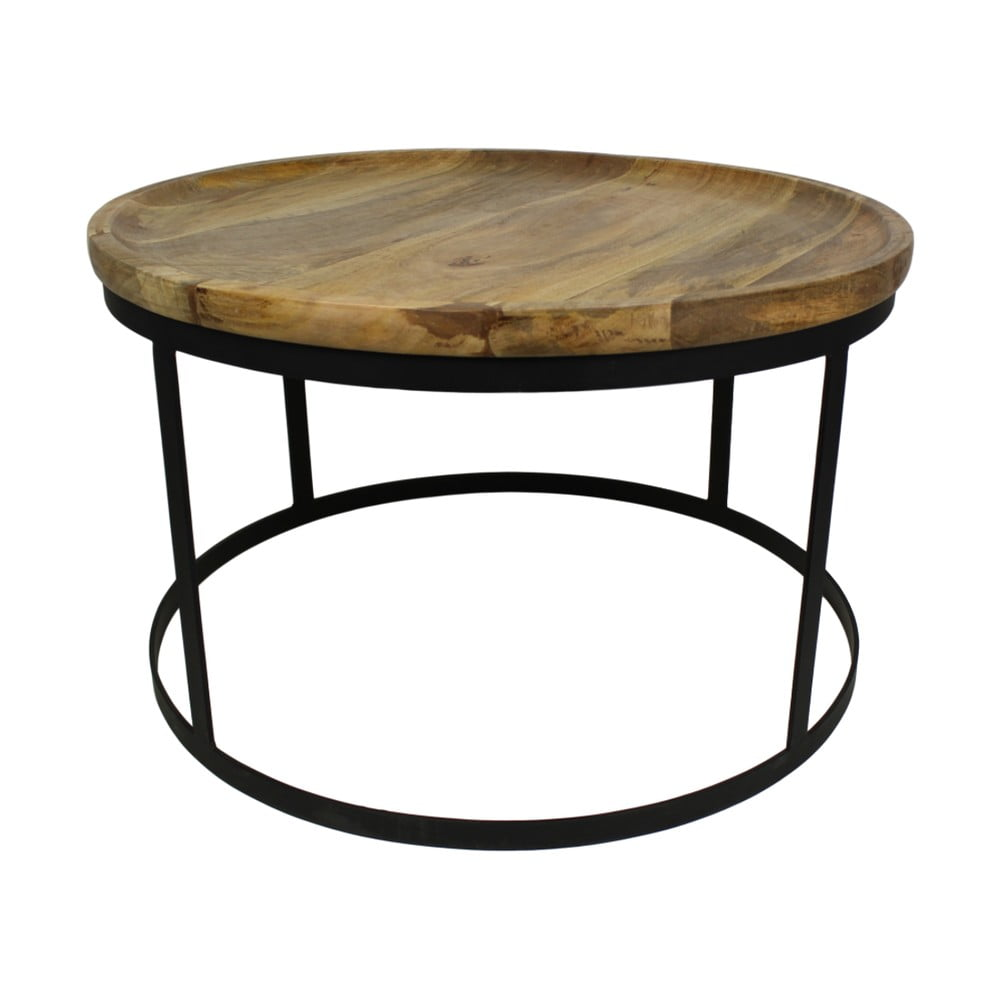 Konferenčný stolík z dreva a kovu HSM collection Zen