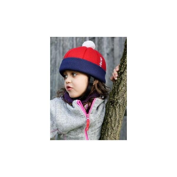 Detská čiapka s ochrannými prvkami Ribcap Freddie Red, veľ. Midi
