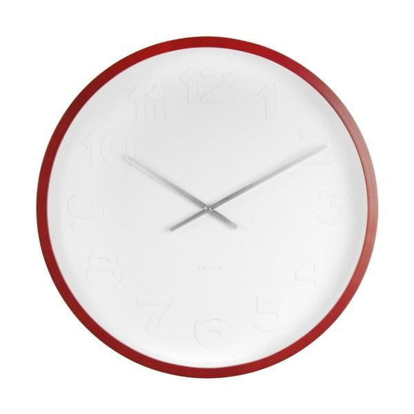 Nástenné hodiny Present Time Mr Woody Numbers