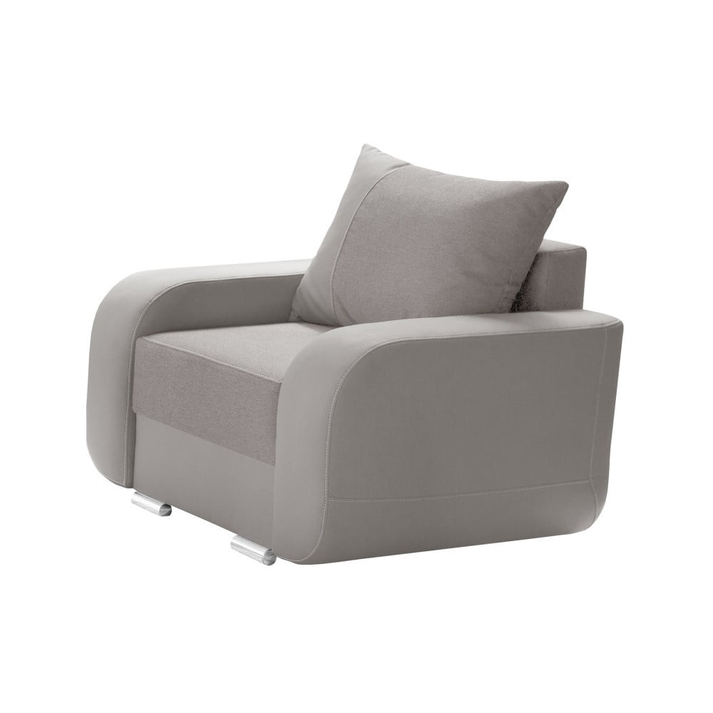 hnedo siv kreslo interieur de famille paris destin bonami. Black Bedroom Furniture Sets. Home Design Ideas