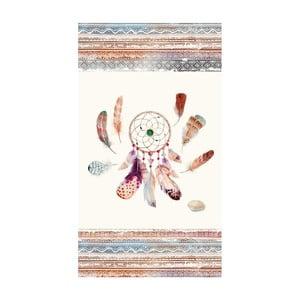 Plážová osuška s potlačou HIP Feathers, 100×180cm