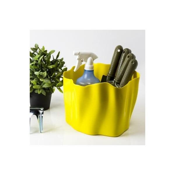 Multifunkčná nádoba QUALY Flow Bucket, žltá