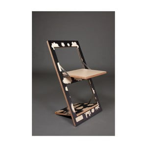 Skladacia stolička s potlačou na jednej strane Ambivalenz Fläpps Trouble