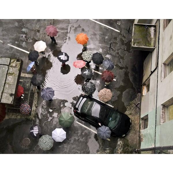 Skladací dáždnik Fuck the rain