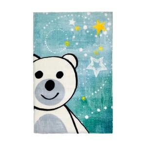 Modrý detský koberec Obsession Bear, 170×120 cm