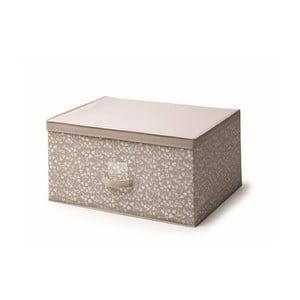 Hnedý úložný box s vekom Cosatto Bocquet, šírka 60 cm