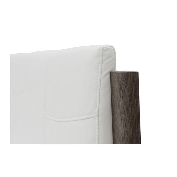 Biela dvojlôžková posteľ Mazzini Beds Dodo, 140×200cm