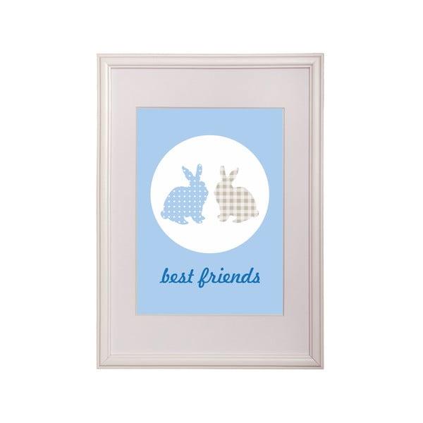 Zarámovaný obraz Friend Rabbit One