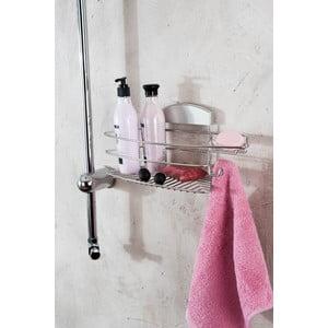 Stojan na sprchové gély bez nutnosti vŕtania Compactor Gél, 35x16 cm