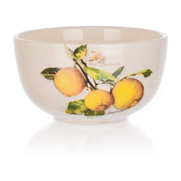 Keramická miska Banquet Lemon, 12,5 cm