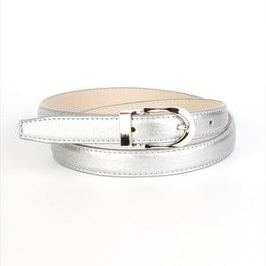 Dámsky kožený opasok 13TS Silver, 80 cm