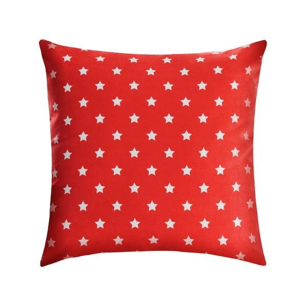 Vankúš Star 45x45 cm, červený