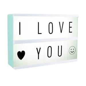 Svetelný box na odkazy Le Studio