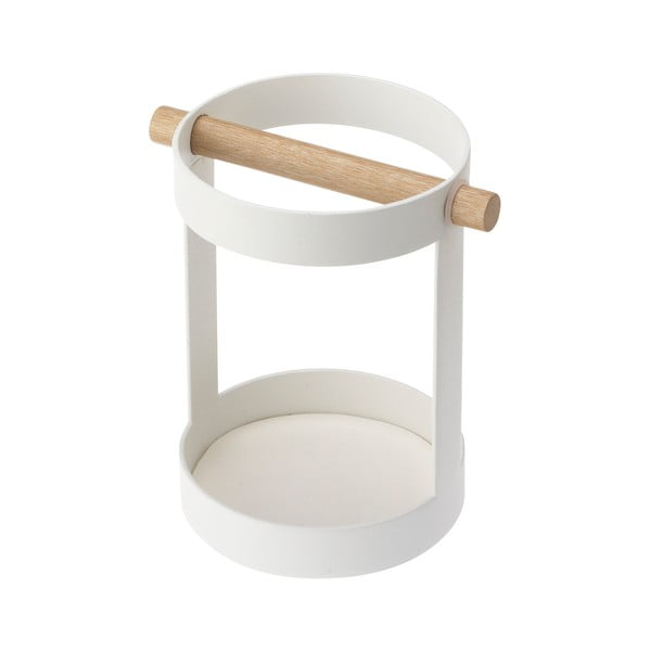 Biely stojanček na kuchynské nástroje Yamazaki Tosca