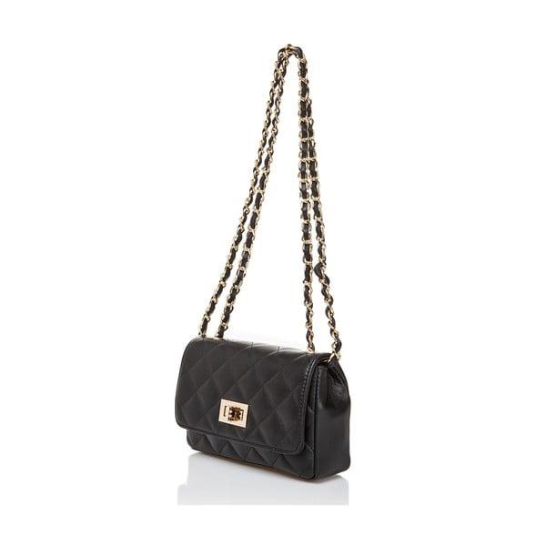 Kožená kabelka Massimo Castelli 6997 Black