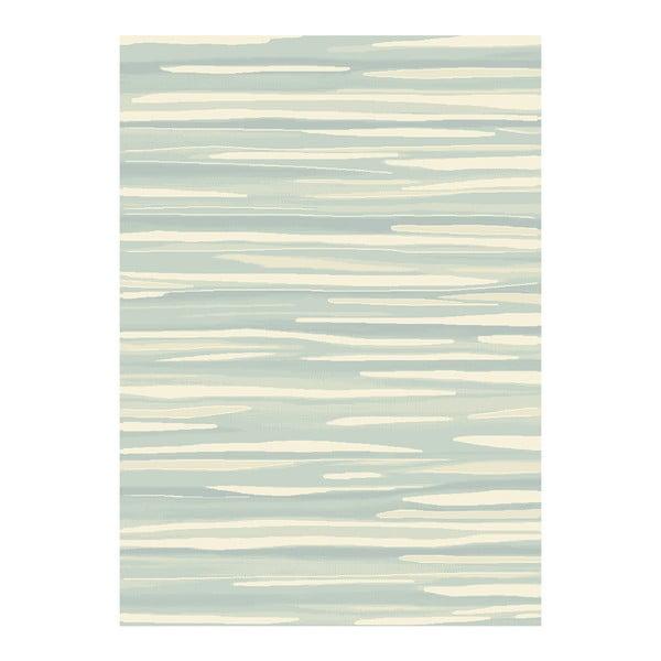 Koberec Asiatic Carpets Echo Broken Stripe Aqua, 120x170 cm