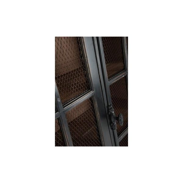 Presklená vitrína Gauze, výška 225 cm