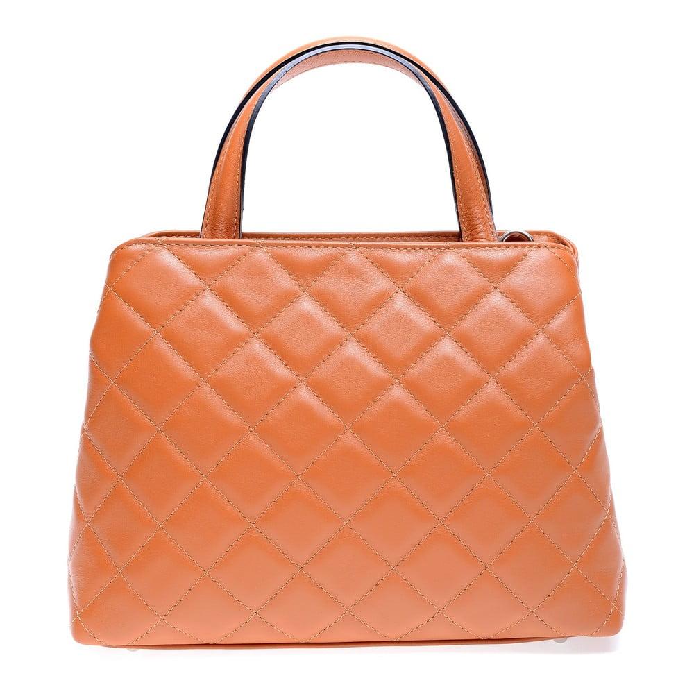 Hnedá kožená kabelka Roberta M Allesia