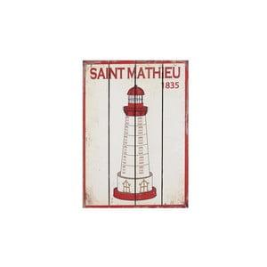 Drevený obraz Saint Mathieu