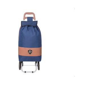 Modrá nákupná taška na kolieskach INFINITIF Chariot de Marché