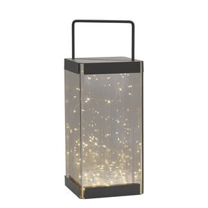 Lampáš s LED svetielkami Villa Collection Quadro, 40 cm