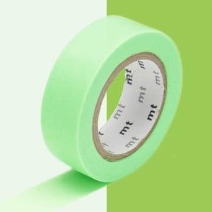 Washi páska Uni Vert Fluo