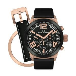 Unisex hodinky Marc Coblen s remienkom a krúžkom na ciferník naviac P81