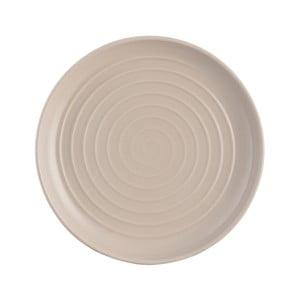 Béžový dezertný tanier z kameniny Mason Cash Spira, ⌀ 21 cm