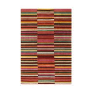 Vlnený koberec Jacob Red, 120x180 cm