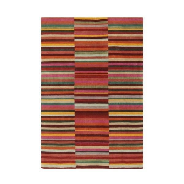Vlnený koberec Jacob Red, 160x230 cm