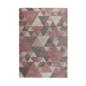 Ružovo-krémový koberec Flair Rugs Nuru, 80×150 cm
