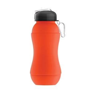 Športová fľaša  Sili-Squeeze, oranžová, 700 ml