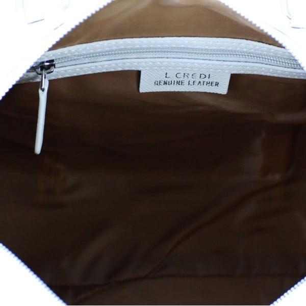 Kožená kabelka Sissi Beige/Taupe