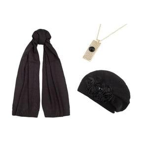 Sada čiapky, šálu a náhrdelníka Lavaii Lola
