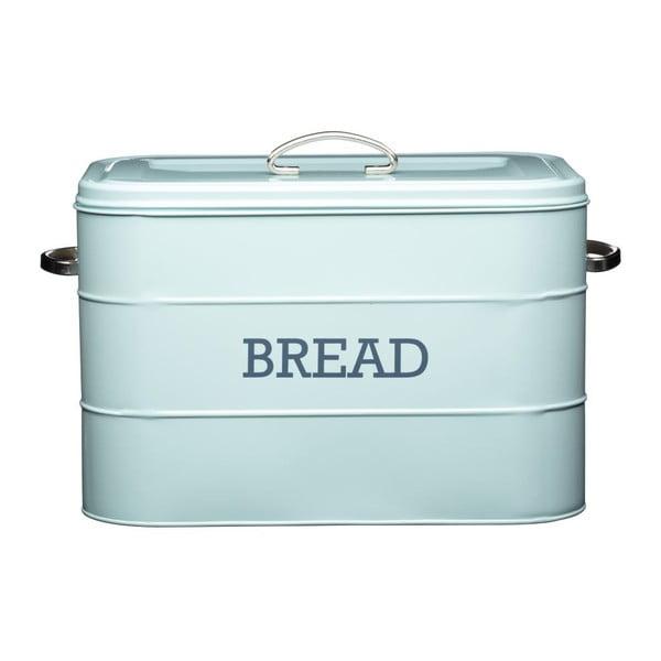 Modrá plechová dóza na chlieb Kitchen Craft Bread
