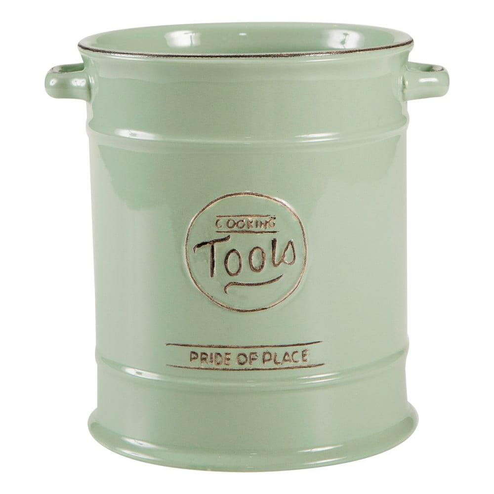 Zelená porcelánová dóza na kuchynské náradie T&G Woodware Pride of Place