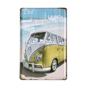 Ceduľa Beach Van, 20x30 cm