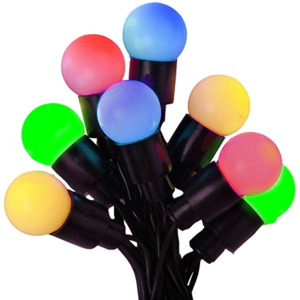 Svetelná reťaz Little Bulbs 190 cm, farebná