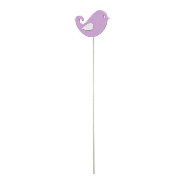 Dekoratívna tyčka Bird Light Violet
