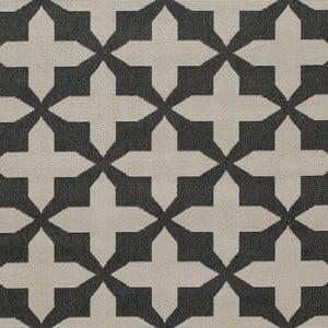 Sivý koberec Nourison Baja Chivay, 290×201cm