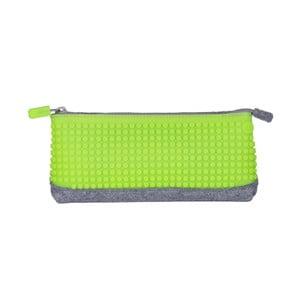 Pixelový perečník, grey/apple green