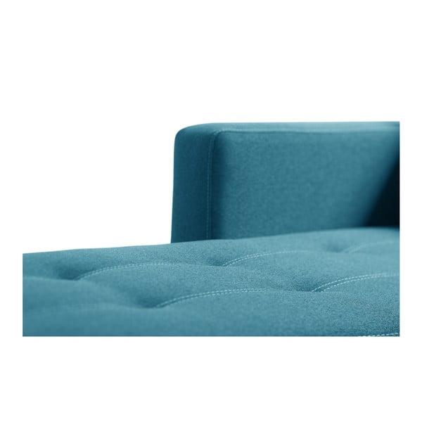 Svetlá tyrkysová sedačka Interieur De Famille Paris Succes, ľavý roh