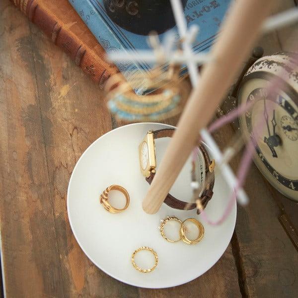 Biely stojanček na šperky YAMAZAKI Tosca Branch