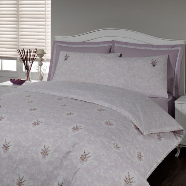 Sada obliečok a plachty In Love Lavender, 160x220 cm