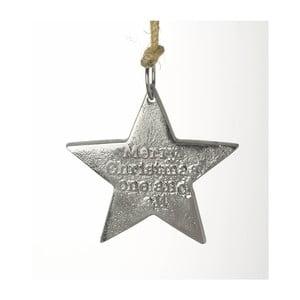 Závesná hviezda Parlane Merry Christmas