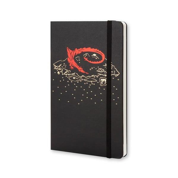 Zápisník Hobbit Moleskine, 13x21 cm