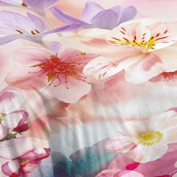 Ružové bavlnené obliečky Müller Textiel Descanso, 140x200cm
