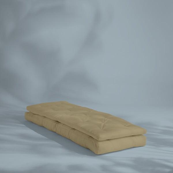 Béžové rozkladacie kresielko vhodné do exteriéru Karup Design Design OUT™ Buckle Up Beige