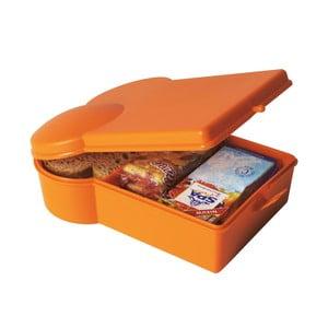 Desiatový box, oranžový