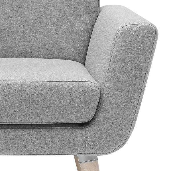 Sivá sedačka Softline Scope